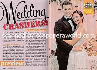 Y&R Cover Story with Michael Mealor & Sasha Calle (Kyle and Lola)