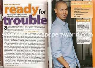 Interview with Bryton James (Devon on The Young & The Restless)
