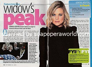 Interview with Kirsten Storms of General Hospital