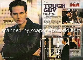 Paul Anthony Stewart played the role of Danny Santos on GL