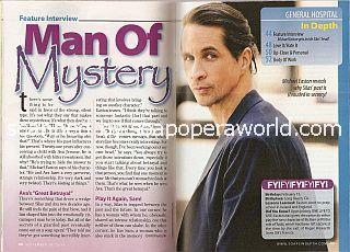 Interview with Michael Easton (Dr. Silas Clay on General Hospital)