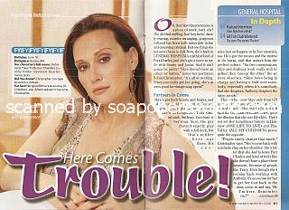 Interview with Robin Christopher (Skye Quartermaine on General Hospital)