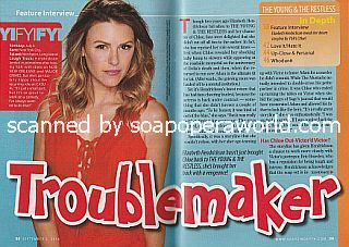 Interview with Elizabeth Hendrickson (Chloe on The Young and The Restless)