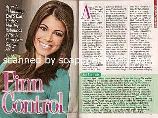 Interview with Lindsay Hartley (Cara on All My Children)