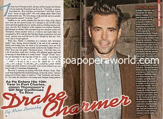 Interview with Jason Thompson (Patrick Drake on soap opera, General Hospital)