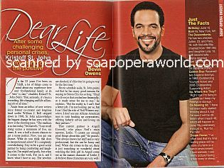 Interview with Kristoff St. John (Neil Winters on The Young & The Restless)