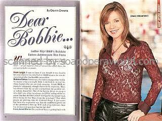 Bobbie Eakes (Macy, B&B)