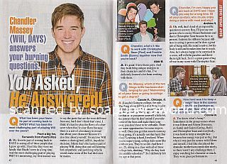 Interview with Chandler Massey (Will on Days Of Our Lives)