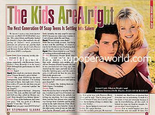 Interview with Jason Cook and Kirsten Storms (Shawn and Belle on Days Of Our Lives)