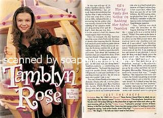 Interview with Amber Tamblyn (Emily on General Hospital)