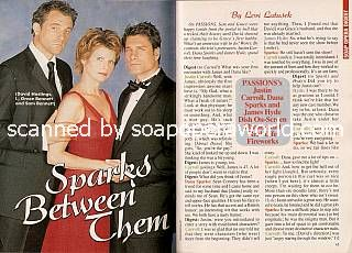 Justin Carroll, Dana Sparks & James Hyde (David, Grace & Sam, PASSIONS)