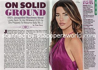 Interview with Jacqueline MacInnes Wood of B&B