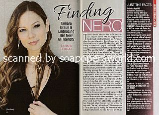 Interview with Tamara Braun (Kim on General Hospital)