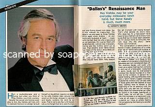 Interview with Steve Kanaly (Ray Krebbs on Dallas)