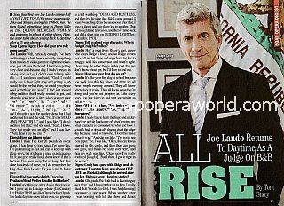 Interview with Joe Lando (Judge Craig McMullen on The Bold and The Beautiful)