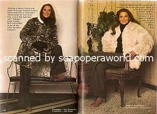 Fur Fashion Pictorial with Nancy Addison (Jillian Coleridge on Ryan's Hope)