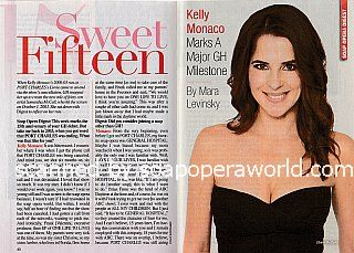 Interview with Kelly Monaco (Sam on General Hospital)