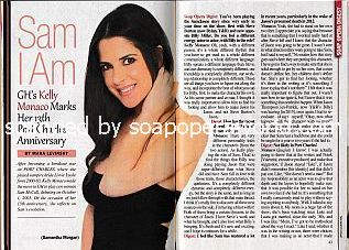 Interview with GH star Kelly Monaco (Kelly plays Sam on General Hospital)