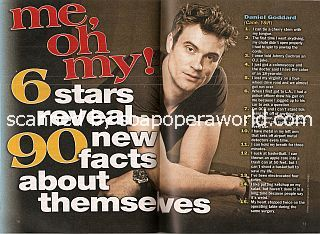 Me, Oh My! featuring Daniel Goddard (Cane on The Young & The Restless)
