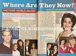 Where Are They Now with the alumni of NBC soap opera, Another World