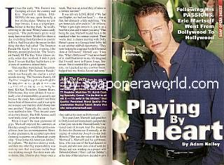 Interview with Eric Martsolf (Ethan on Passions)