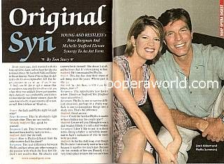Interview with Michelle Stafford & Peter Bergman (Phyllis & Jack on The Young and The Restless)