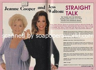 Cover Story with Jeanne Cooper & Jess Walton of Y&R