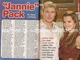 Interview with Jacob Young & Melissa Claire Egan (JR and Annie on All My Children)