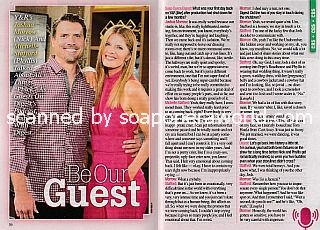Interview with Joshua Morrow and Michelle Stafford (Nick and Phyllis on The Young and The Restless)