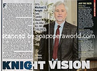 Interview with Michael E. Knight (Martin Gray on General Hospital)