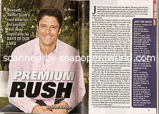 Interview with James Scott (EJ on Days Of Our Lives)