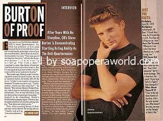 Interview with Steve Burton (Jason Quartermaine on General Hospital)