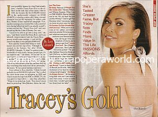 Interview with Tracey Ross (Eve on Passions)