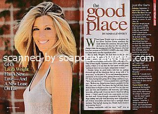 Interview with Laura Wright (Carly on General Hospital)