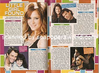 Character History for Robin of General Hospital featuring Kimberly McCullough