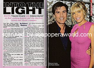 Interview with Vincent Irizarry & Arianne Zucker (Deimos & Nicole on Days Of Our Lives)