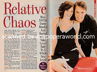Interview with Darin Brooks and Rachel Melvin (Max and Chelsea on Days Of Our Lives)