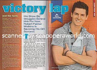 Interview with Robert Palmer Watkins (Robert plays the role of Dillon Quartermaine on General Hospital)