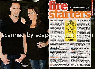 Interview with William deVry and Nancy Lee Grahn (Julian and Alexis on General Hospital)