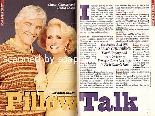 Interview with David Canary & Jennifer Bassey (Stuart & Marian on All My Children)