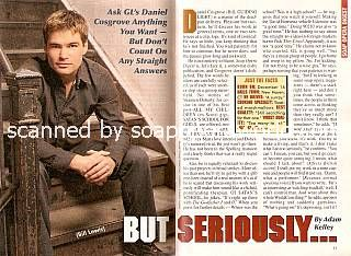 Interview with Daniel Cosgrove (Bill on Guiding Light)