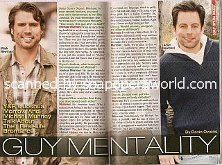 Interview with Joshua Morrow & Michael Muhney (Nick and Adam on The Young & The Restless)