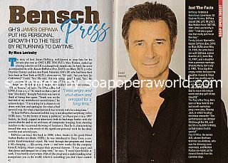 Interview with James DePaiva (David Bensch on General Hospital)