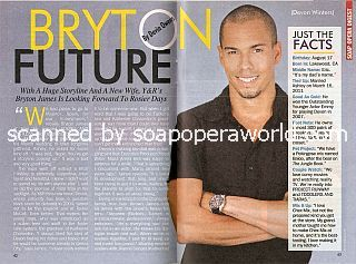 Interview with Bryton James (Devon Winters on The Young & The Restless)