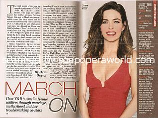 Interview with  Amelia Heinle (Victoria on the soap opera, The Young & The Restless