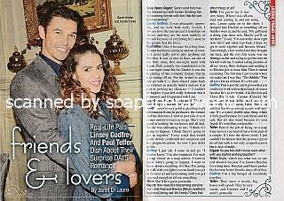 Interview with Paul Telfer & Linsey Godfrey (Xander & Sarah on Days Of Our Lives)