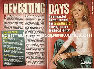Interview with Eileen Davidson (Kristen Blake on Days Of Our Lives)