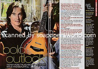 Interview with Ronn Moss (ex-Ridge Forrester on The Bold and The Beautiful)