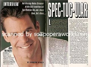 Interview with Tuc Watkins (David Vickers on One Life To Live)
