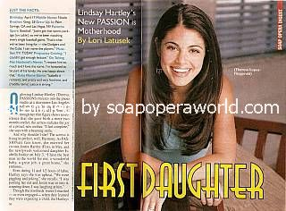 Lindsay Hartley (Theresa, PASSIONS)